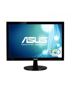 MONITOR ASUS VS197DE 185 LED 1366x768 5MS VGA NEGRO