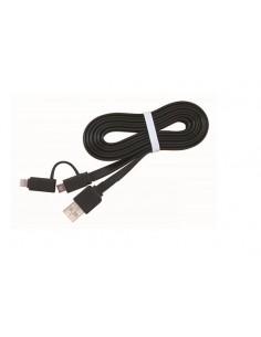 CABLE USB GEMBIRD USB 20 A MICRO USB LIGHTNING 1M
