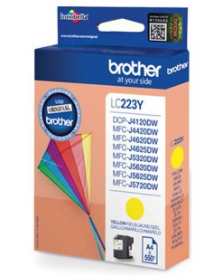 TINTA BROTHER LC223YBP AMARILLO