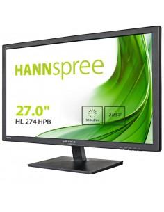 MONITOR HANNS HL274HPB 27 1920x1080 5MS HDMI DVI ALTAVOCES NEGRO