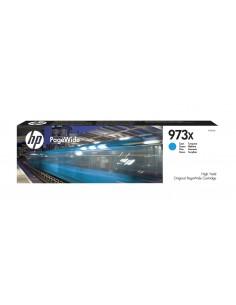 TINTA HP 973X PAGEWIDE CIAN ALTA CAPACIDAD