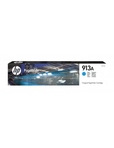 TINTA HP 913A CIAN PAGEWIDE