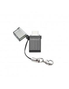 USB 20 INTENSO 16GB MINI LINE NEGRO