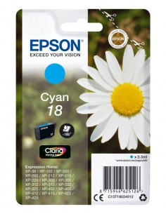 TINTA EPSON CLARIA 18 CIAN XP102 205 305 322 405 422