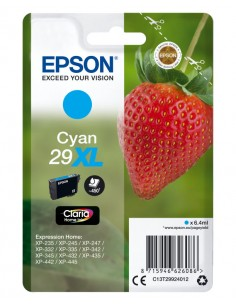 TINTA EPSON CLARIA 29XL CIAN XP235 XP332 XP335 XP432 XP435