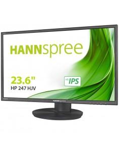 MONITOR HANNS HP247HJV 236 1920x1080 8MS HDMI DVI REGULABLE NEGRO