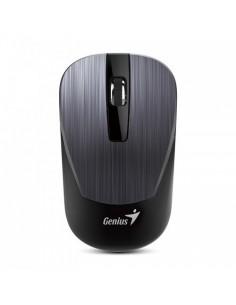 RATON GENIUS NX 7015 INALAMBRICO USB GRIS OSCURO METAL