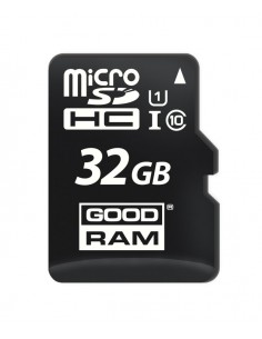 MICRO SD GOODRAM 32GB C10 UHS I CON ADAPTADOR