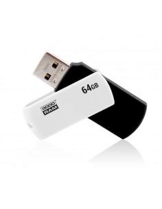 USB 20 GOODRAM 64GB UCO2 NEGRO BLANCO