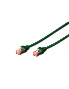 CABLE DIGITUS S FTP CAT 6 Cu LSZH AWG 27 7 LENGHT 025M 10 PCS VERDE