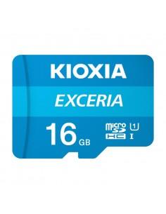 MICRO SD KIOXIA 16GB EXCERIA UHS I C10 R100 CON ADAPTADOR
