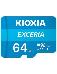 MICRO SD KIOXIA 64GB EXCERIA UHS I C10 R100 CON ADAPTADOR