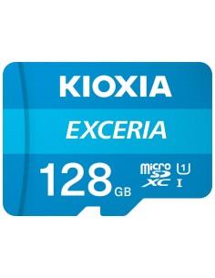 MICRO SD KIOXIA 128GB EXCERIA UHS I C10 R100 CON ADAPTADOR