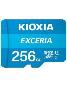 MICRO SD KIOXIA 256GB EXCERIA UHS I C10 R100 CON ADAPTADOR