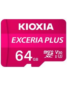 MICRO SD KIOXIA 32GB EXCERIA PLUS UHS I C10 R98 CON ADAPTADOR