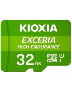 MICRO SD KIOXIA 32GB EXCERIA HIGH ENDURANCE UHS I C10 R98 CON ADAPTADOR