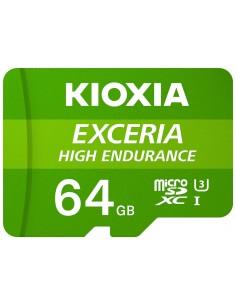 MICRO SD KIOXIA 64GB EXCERIA HIGH ENDURANCE UHS I C10 R98 CON ADAPTADOR