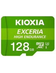 MICRO SD KIOXIA 128GB EXCERIA HIGH ENDURANCE UHS I C10 R98 CON ADAPTADOR
