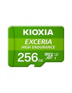 MICRO SD KIOXIA 256GB EXCERIA HIGH ENDURANCE UHS I C10 R98 CON ADAPTADOR