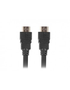CABLE HDMI LANBERG MACHO MACHO V20 4K 15M NEGRO