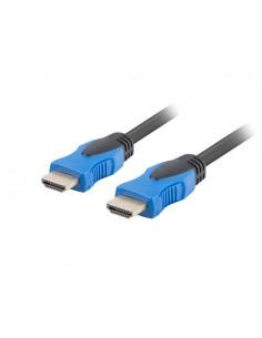CABLE HDMI LANBERG MACHO MACHO V20 CU 4K 05M NEGRO