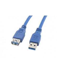 CABLE ALARGADOR LANBERG USB 30 MACHO HEMBRA 18M AZUL