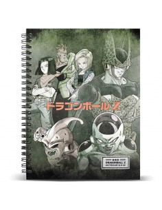 Cuaderno A4 Evil Dragon Ball