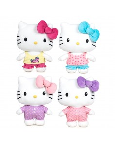 Peluche Hello Kitty Pijama Party 27cm surtido