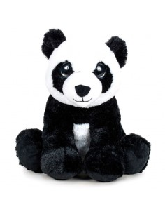 Peluche Panda Ojos Luz soft 27cm