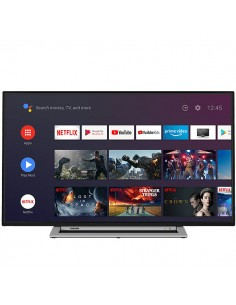 TV TOSHIBA 55UA3A63DG 55 UHD SMART ANDROIDTV WIFI USB HDMI GOOGLE ASSISTA CHOM