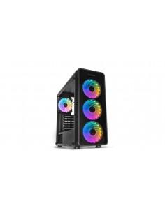 CAJA NOX HUMMER TGM RAINBOW ATX 1XUSB30 2XUSB20 NEGRO RGB