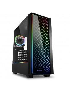 CAJA SHARKOON LIT 200 ATX 2XUSB30 RGB SIN FUENTE NEGRO