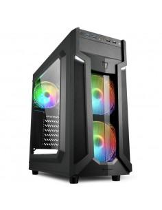 CAJA ATX SHARKOON VG6 W RGB 2XUSB30 SIN FUENTE