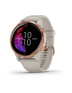 SMARTWATCH GARMIN VENU AZUL BEIGE ROSE GOLD