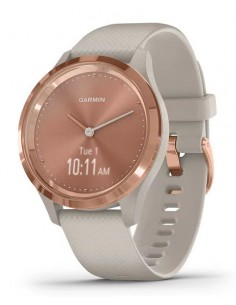 SMARTWATCH GARMIN VIVOMOVE 3S ROSE GOLD BEIGE