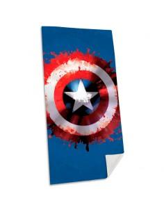 Toalla Capitan America Marvel algodon
