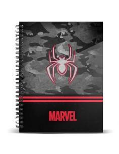 Cuaderno A4 Spiderman Marvel