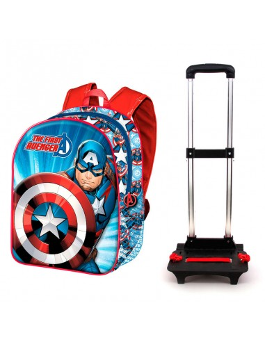 Trolley Capitan America Marvel 48cm