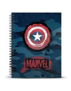 Cuaderno A4 Capitan America Marvel