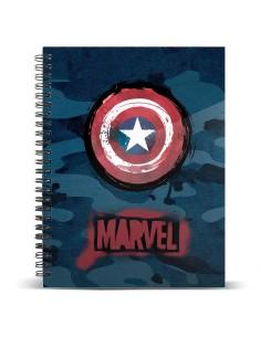 Cuaderno A5 Capitan America Marvel