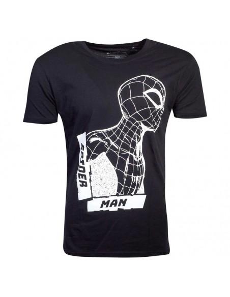 Camiseta Side View Spiderman Marvel