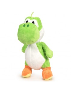 Peluche Yoshi Mario Bros soft 20cm