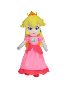 Peluche Peach Mario Bros soft 35cm
