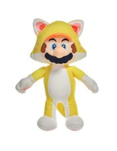 Peluche Mario Yellow Mario Bros soft 35cm