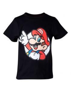 Camiseta Kids Super Mario Bros Nintendo