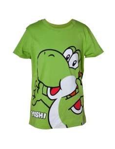 Camiseta Kids Big Yoshi Super Mario Nintendo