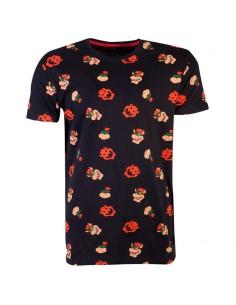 Camiseta Bowser Super Mario Nintendo
