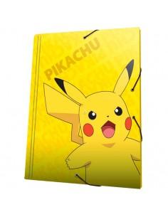Carpeta A4 Pikachu Pokemon solapas