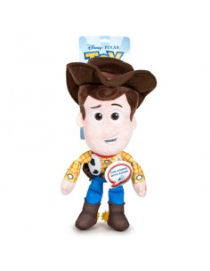 Peluche Woody Toy Story 4 Disney Pixar 30cm sonido