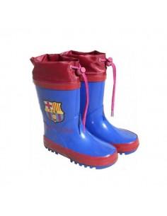Botas agua FC Barcelona escudo cierre ajustable